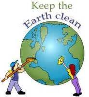 THE CLEAN OF SCHOOL ENVIRONMENT AND AROUND IT